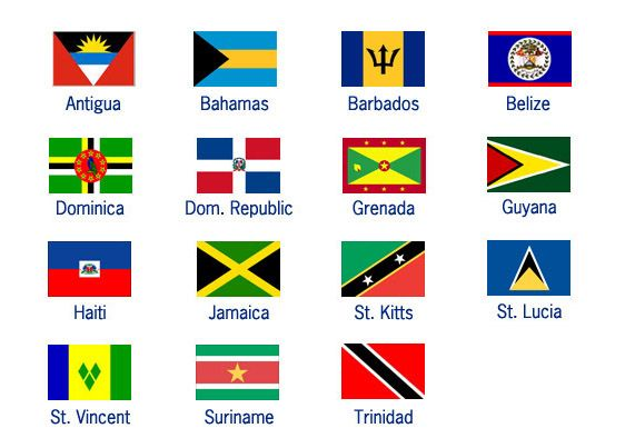 Image result for caribbean flag