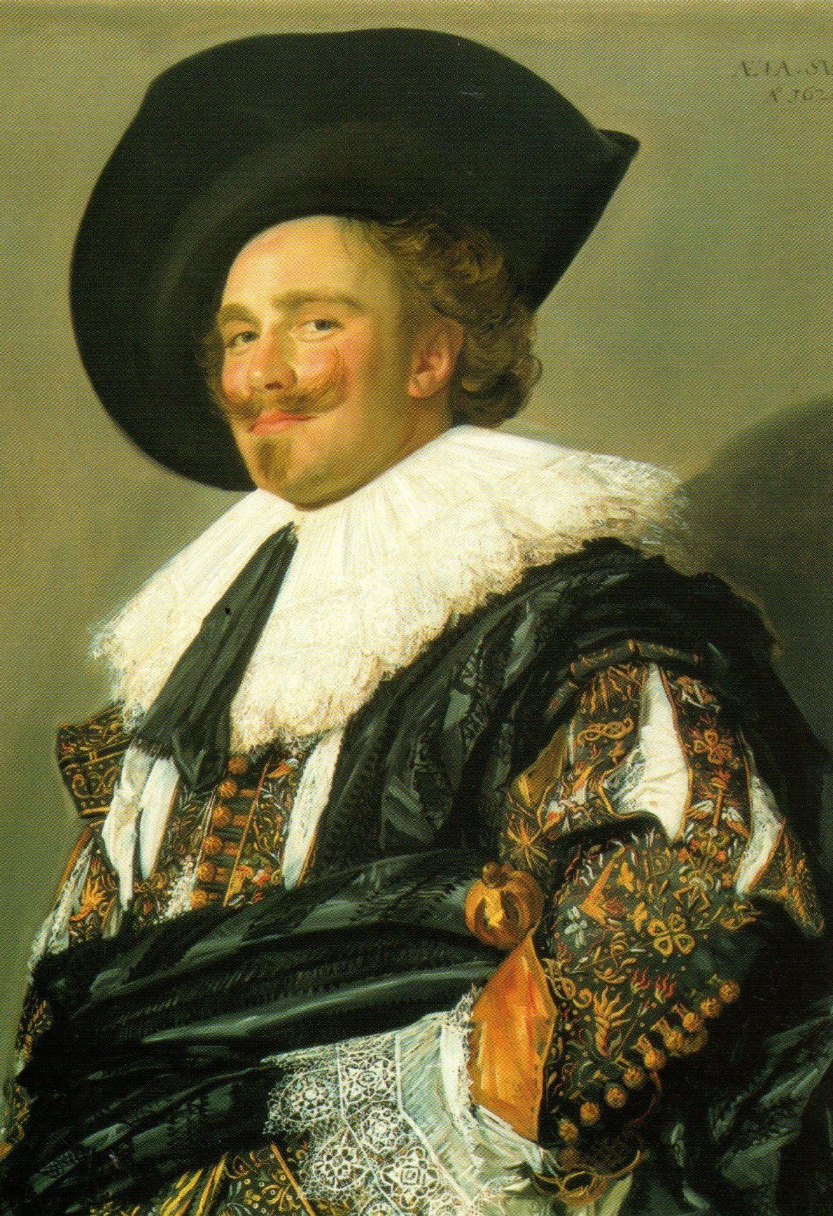 Frans Hals Le cavalier souriant. 1624