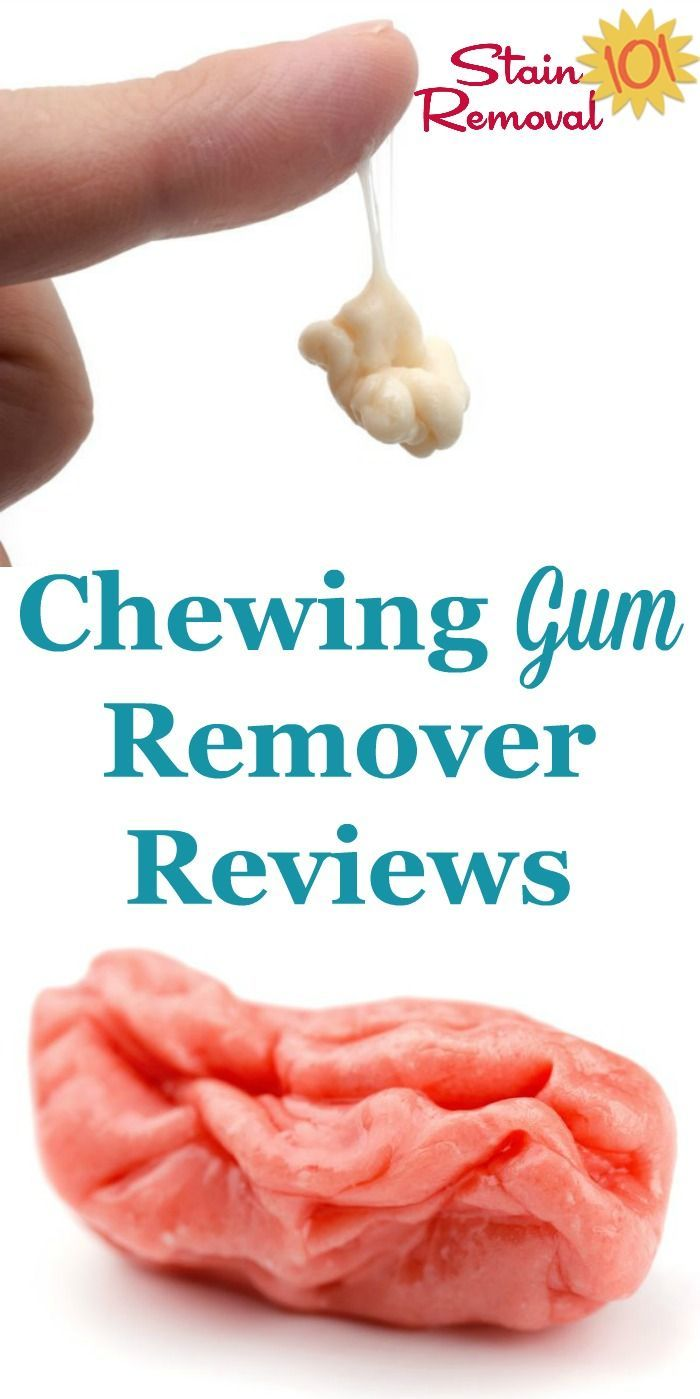 Chewing Gum Remover Reviews: What Works And What Doesn't?
