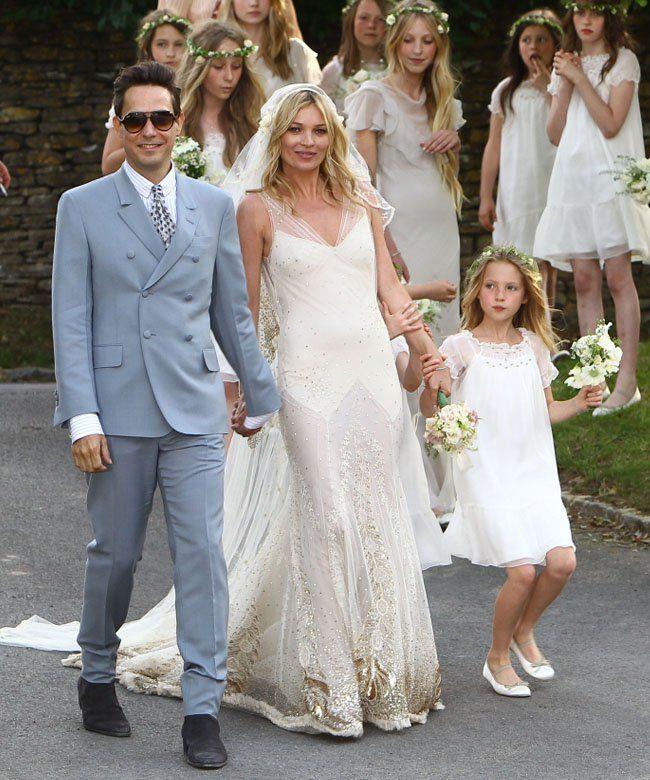 Kate Moss Wedding Wedding Dresses Celebrity Wedding Dresses