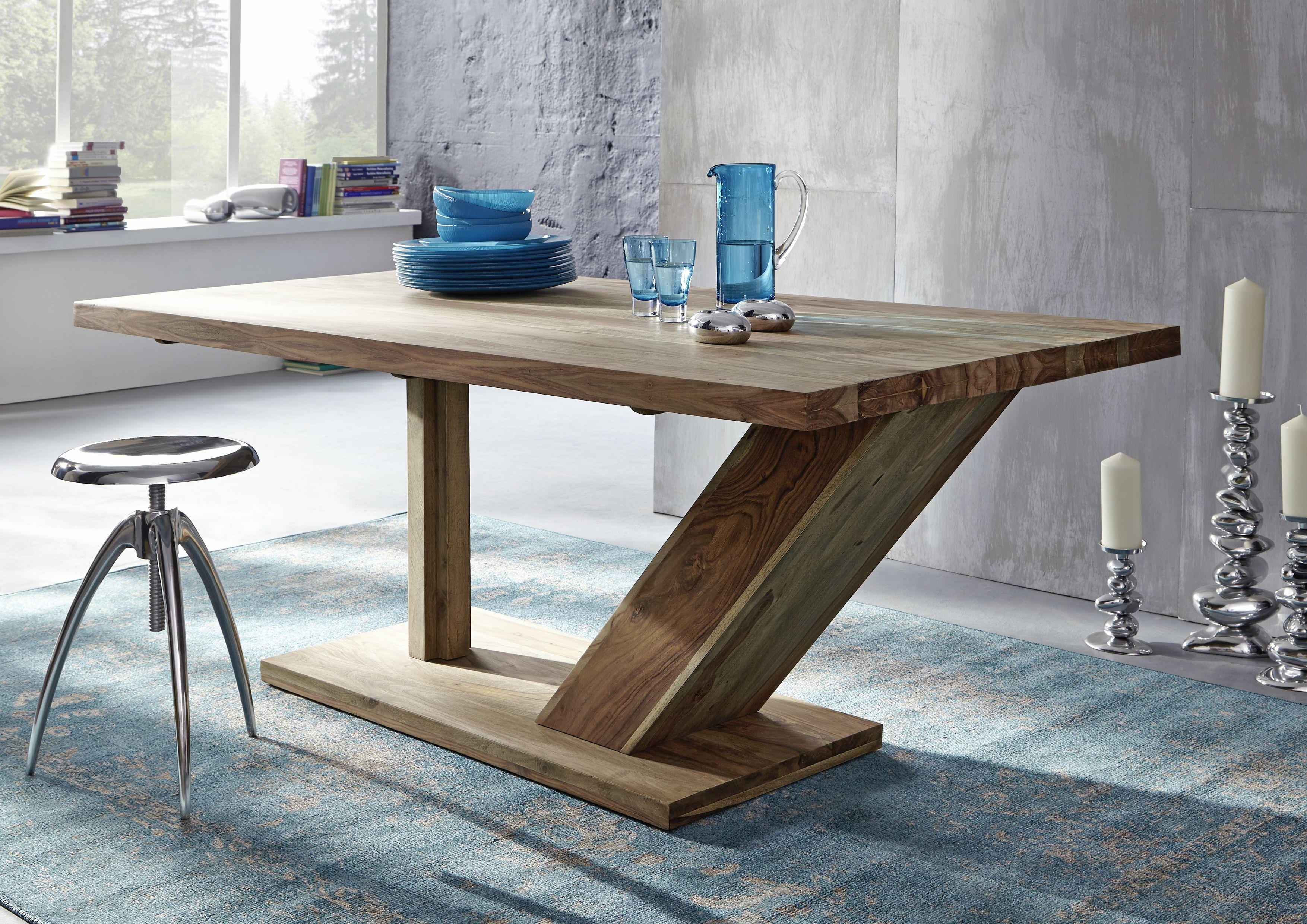 Naturholzmöbel versandfrei kaufen in 2020   Esszimmertisch holz, Küche tisch, Tisch