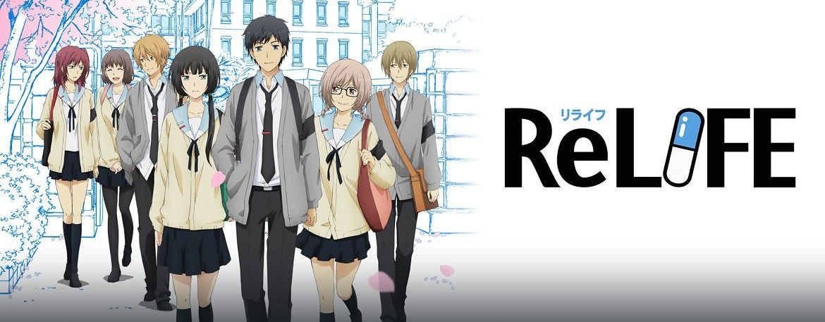 ReLIFE Manga Ends in March Manga, March, Anime