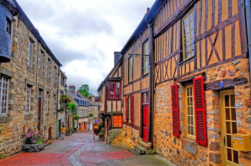 Domfront - Normandia, France