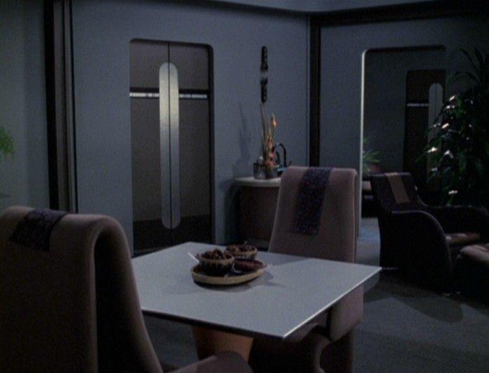 Intrepid Crew Quarters Star Trek Voyager Interior