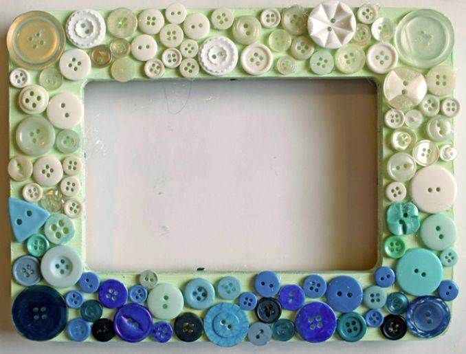 Easy DIY Photo and Picture Frame Decorating Crafts -