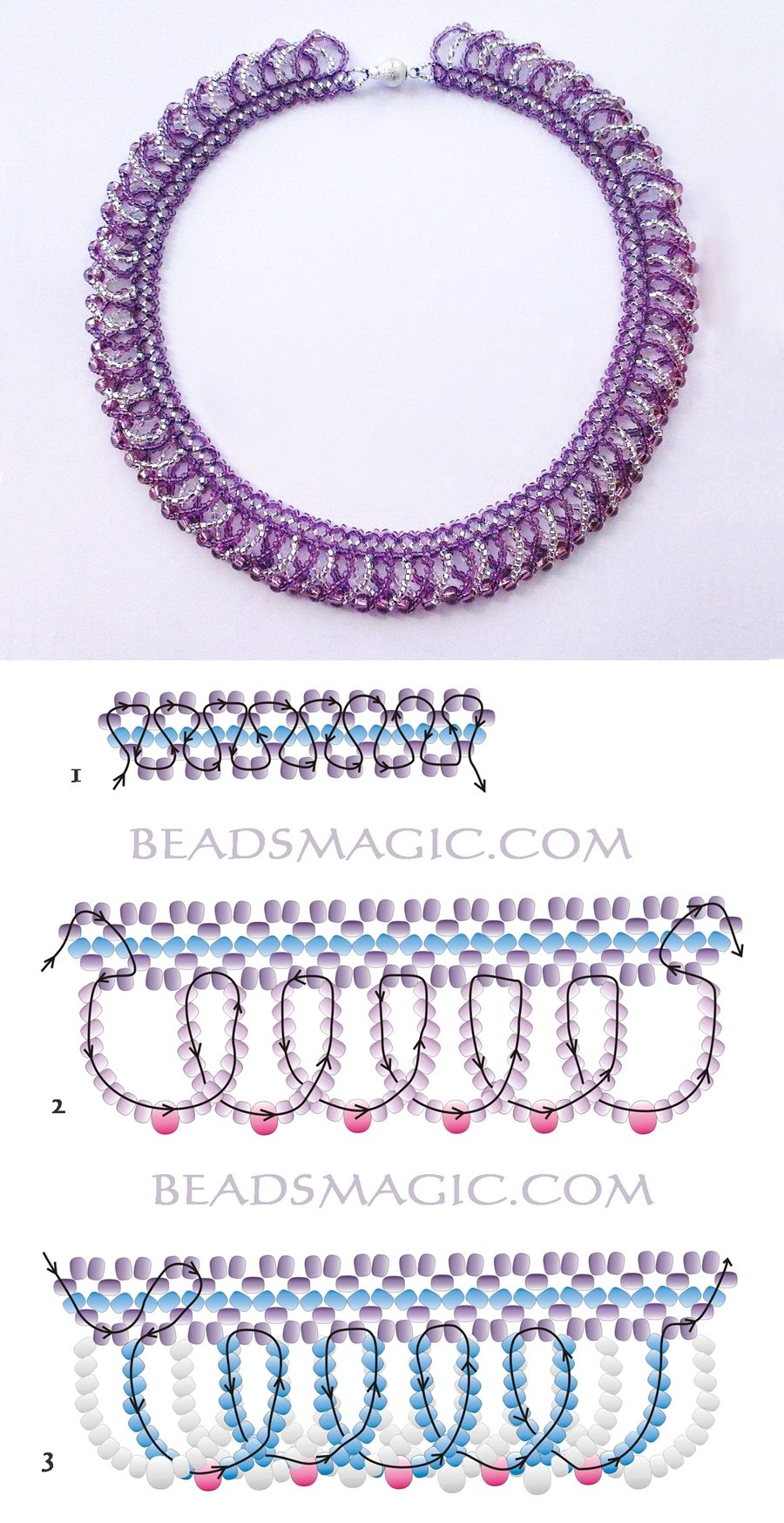 Jasmine from beads: a scheme of weaving with our own hands (video)