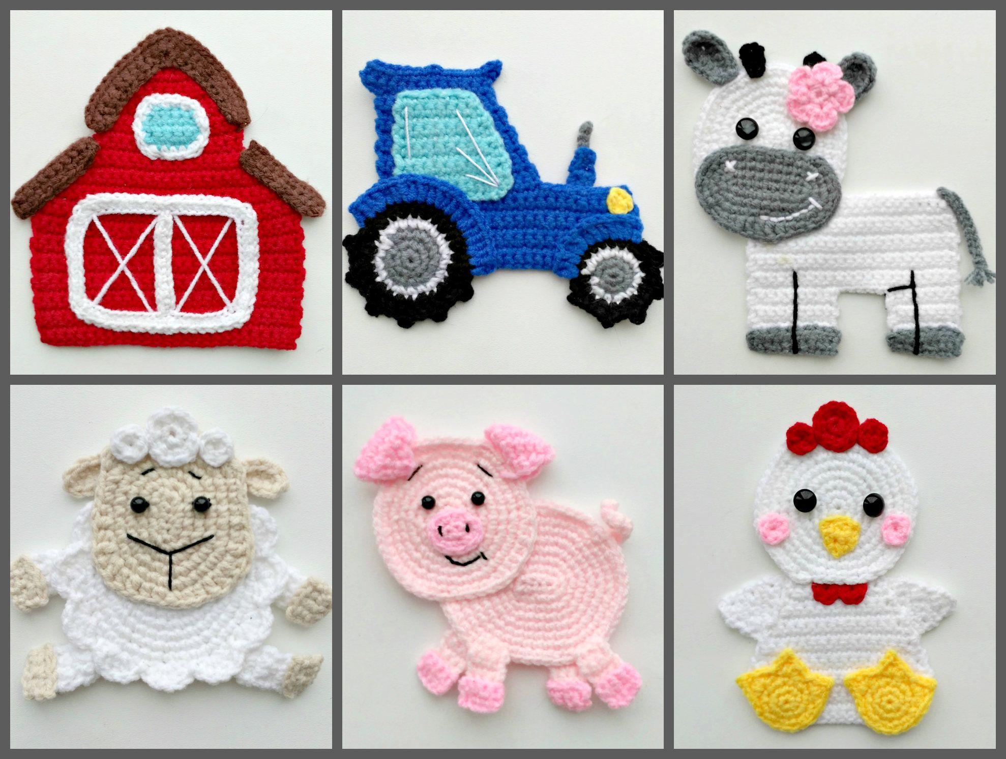 Excepcional Patrón Tractor Crochet Inspiración - Manta de Tejer ...