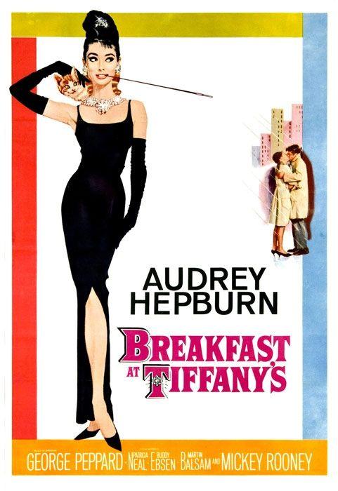 Manifesto di 'Colazione da Tiffany'