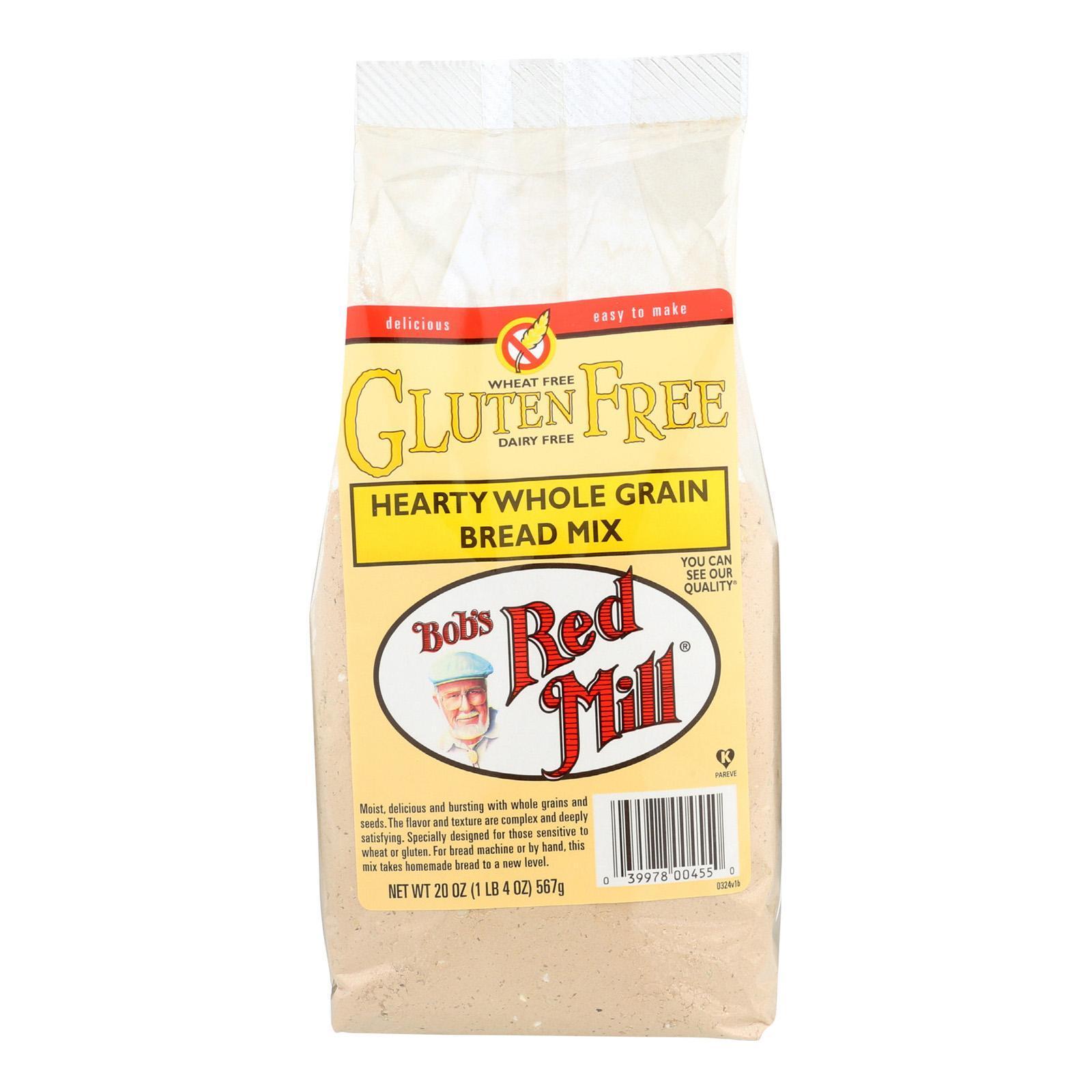Bob's Red Mill Gluten Free Hearty Whole Grain Bread Mix