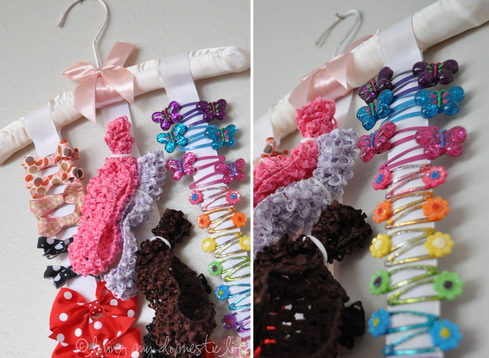 Loving my domestic life hair accessory organizer hair - Ideas para ordenar ...