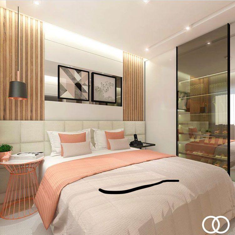 New The 10 Best Home Decor (with Pictures) - Nesta suite o Rose Gold veio com tudo para trazer ...