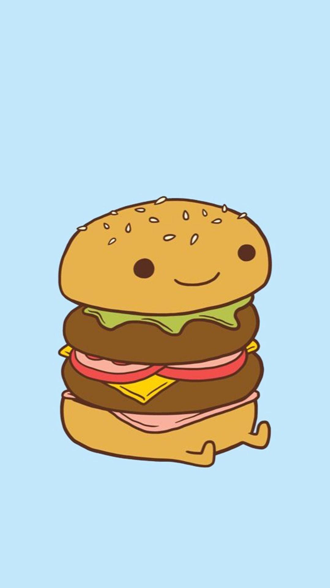 Da burger My first Pinterest Burgers, Kawaii and