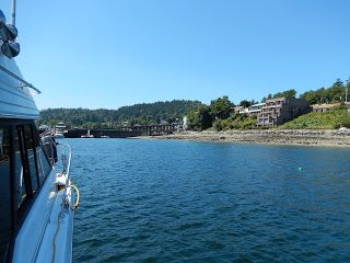 Anchoring Off Gibsons Landing -- Margy