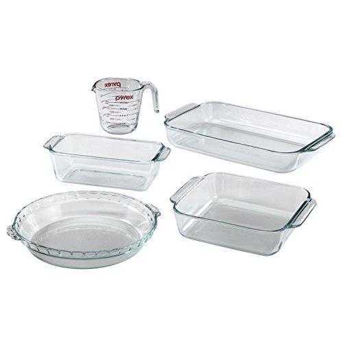 Pyrex 5 Piece Basics Baking Dish Bakeware Set With Images