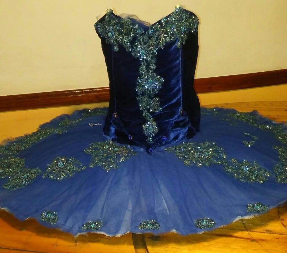 Tutu Princesa Florine Variación Pajaro Azul Ballet Bella Durmiente Diseño y confección ZB ACCESORIOS PARA LA DANZA
