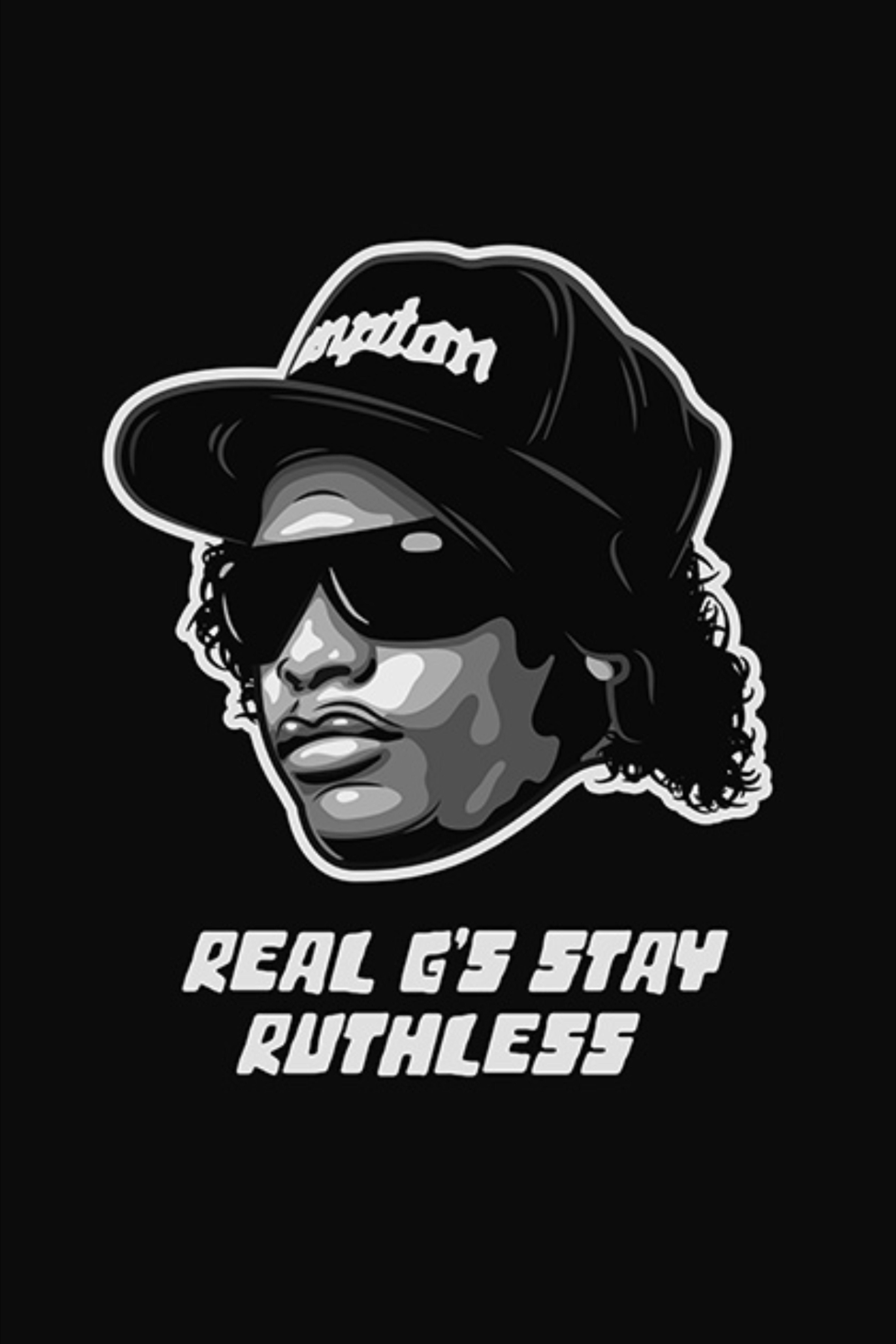 Eazye poster rap poster rap lyrics wall art hip hop