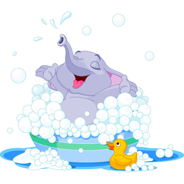 bubble bath elephant happy elephant bubble baths and clip art rh pinterest com dog bubble bath clipart bubble bath clipart free