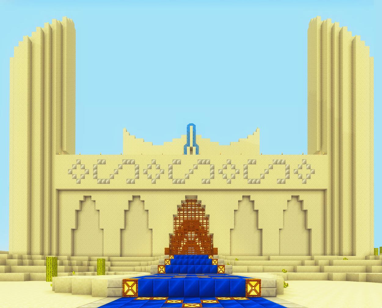 Minecraft Sand Castle    For Minecraft!!   Minecraft castle