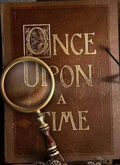 Once Upon A Time Livre : livre, Vintage, Shabby, Pink!, Theenchantedcove:, Imgfave.com, Time,, Fairy, Tales,
