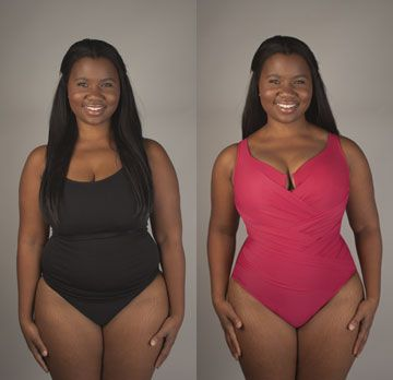 8d26a723a79 Here's some before and after photos (courtesy of Cyber Swim). They took real  life, normal women and transformed them with a Miraclesuit makeover.