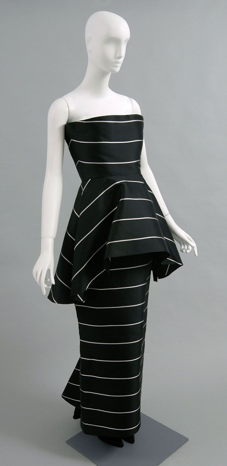 Ca 1980 S Woman S Evening Ensemble Dress And Over Dress Designed By Bernard Perris French 1936 2010 Made Vintage Fashion 1980s 1980s Fashion Dresses