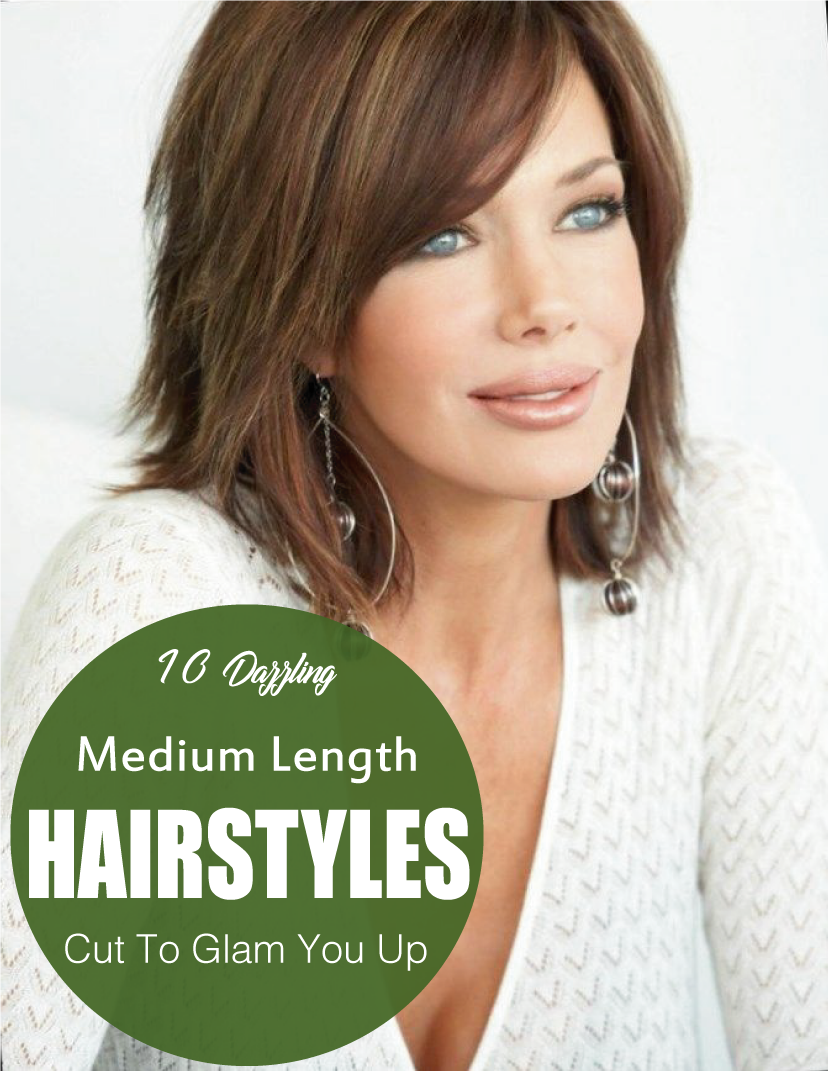 easy medium length hairstyles for women medium length