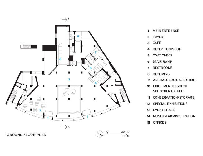 State Museum Of Archaeology Ground Floor Plan Museum