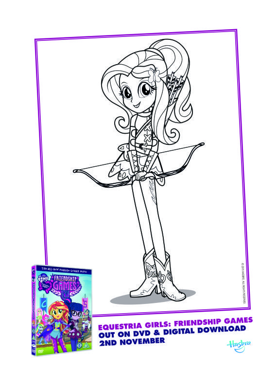 EquestriaGirls Colouring R2 11