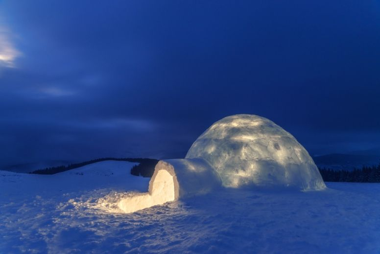 Image result for north pole igloos