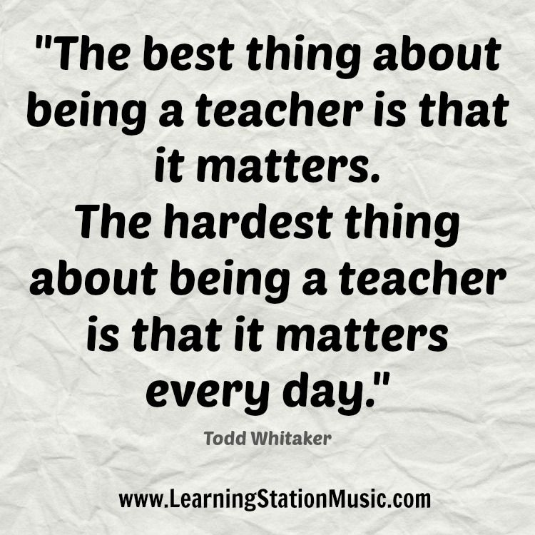 Great Teachers Devote Their Entire Life To Their Profession They