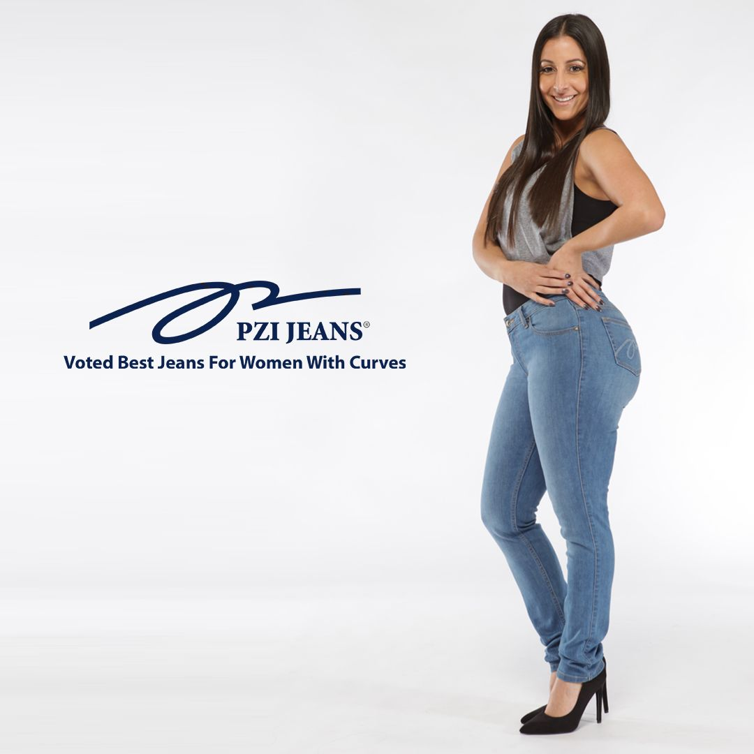 1630382e93e Every curvy girl loves PZI Jeans. Available in sizes 4-18; short ...