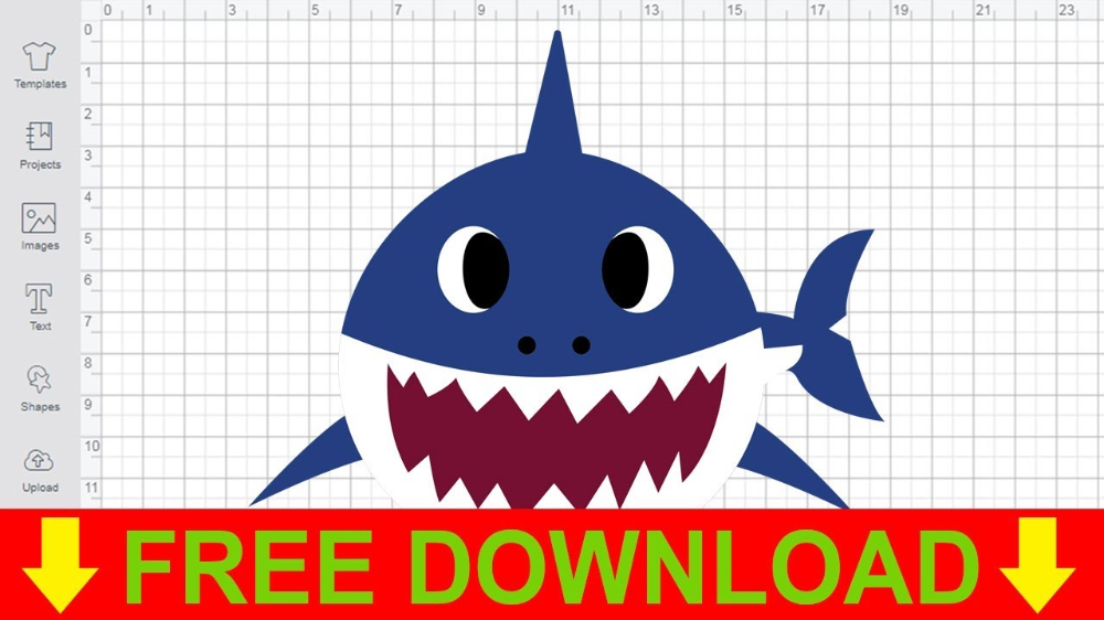 baby shark svg Google Search Free svg, Silhouette free
