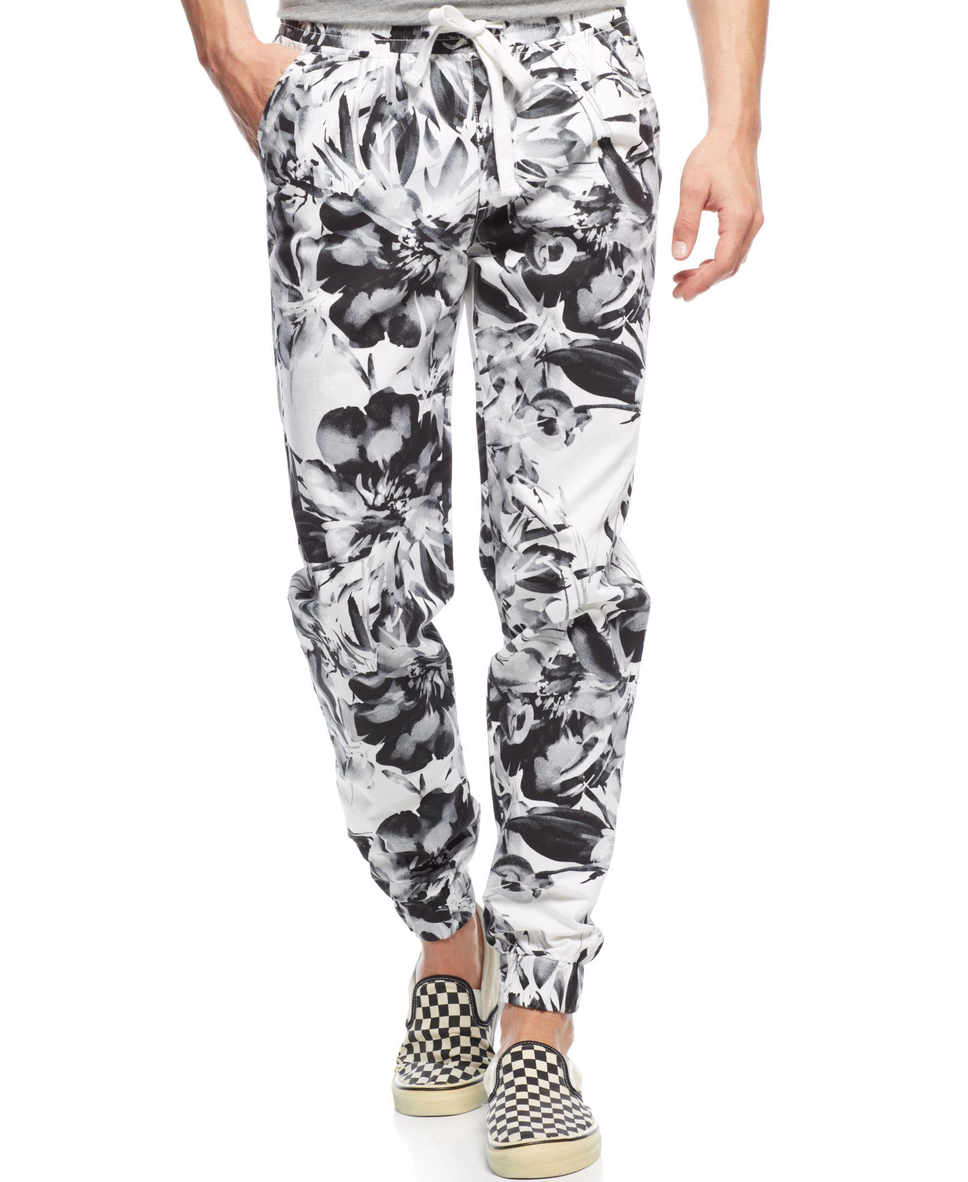 Trukfit Drawstring Floral Joggers Floral Joggers Joggers Pants