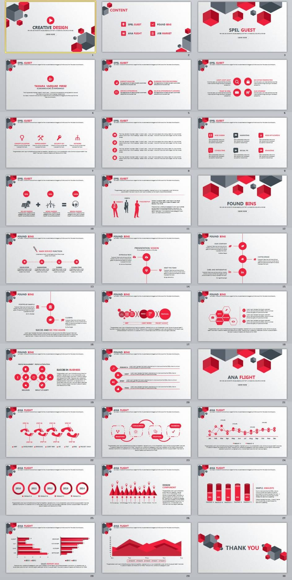 30 best project timeline charts powerpoint template layout
