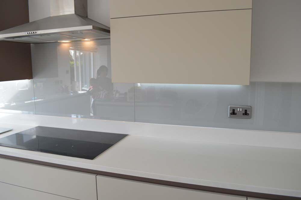 Grey Splashback Glass Splashbacks Glass Backsplash Kitchen