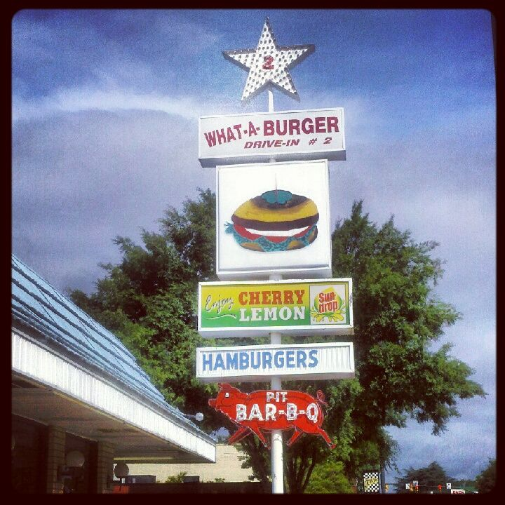 What-A-Burger  Ain't nothing like a What A Burger and a