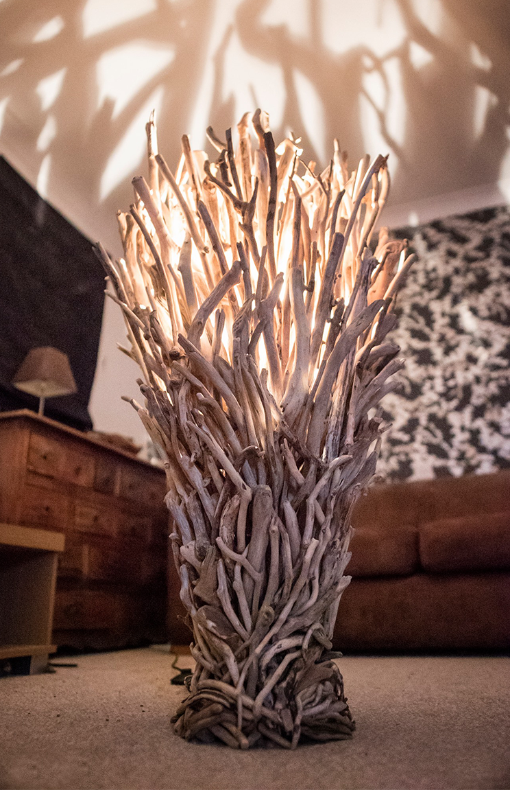 furniture most incredible the dazzling indoors driftwood of ever floor lamp lamps standing
