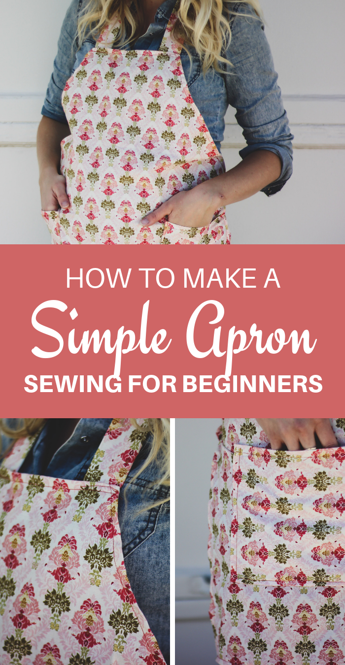 How to Make an Apron - Simple and Easy DIY Apron Tutorial