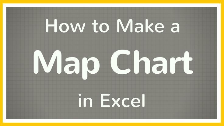 Excel tutorial on how to use Map Charts in Excel to create a map