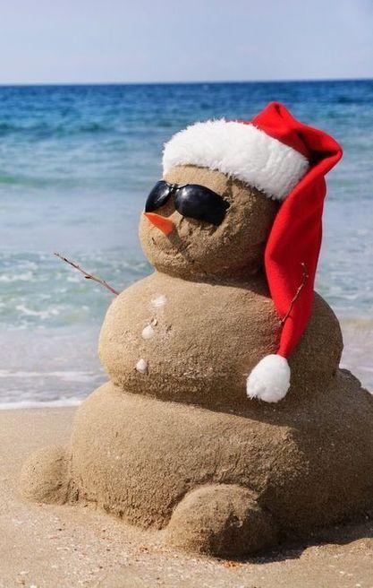 Beach Christmas! Beach christmas Pinterest Beach christmas