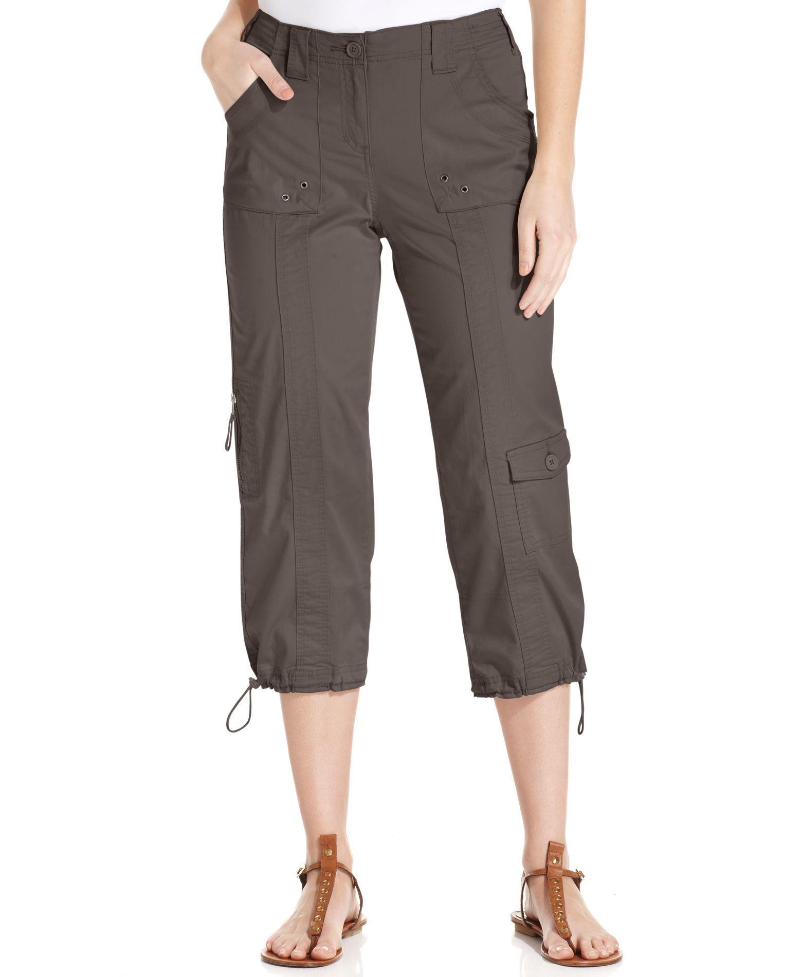 Style & Co. Cargo Capri Pants