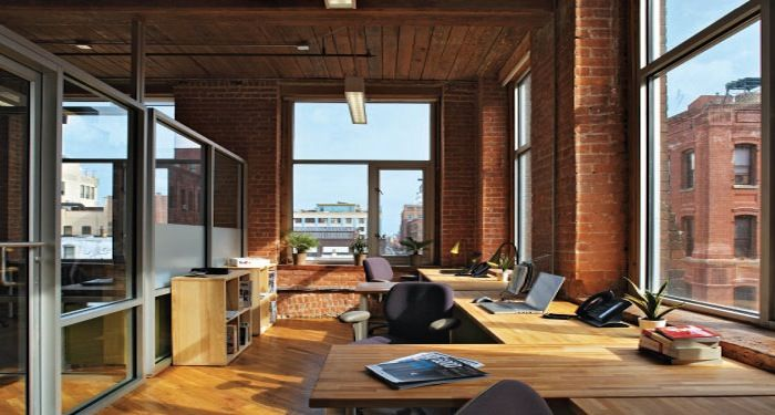 Beautiful office google business and home for Beautiful office design