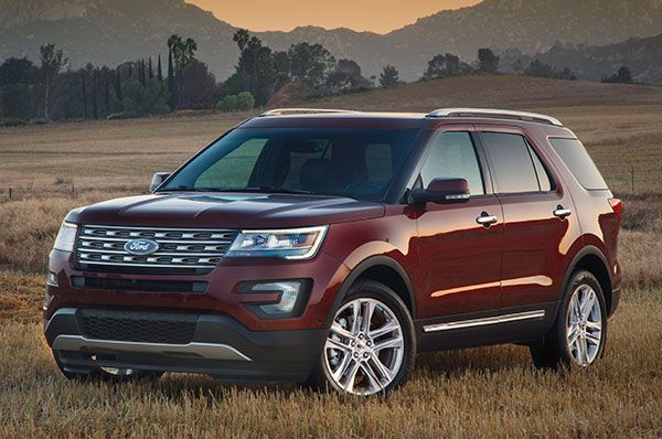 2017 Ford Explorer Review With Images