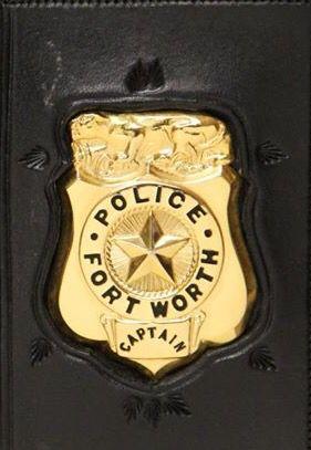 Fwpd Smaller Wallet Badge Fort Worth Police Fire Badge Police Badge