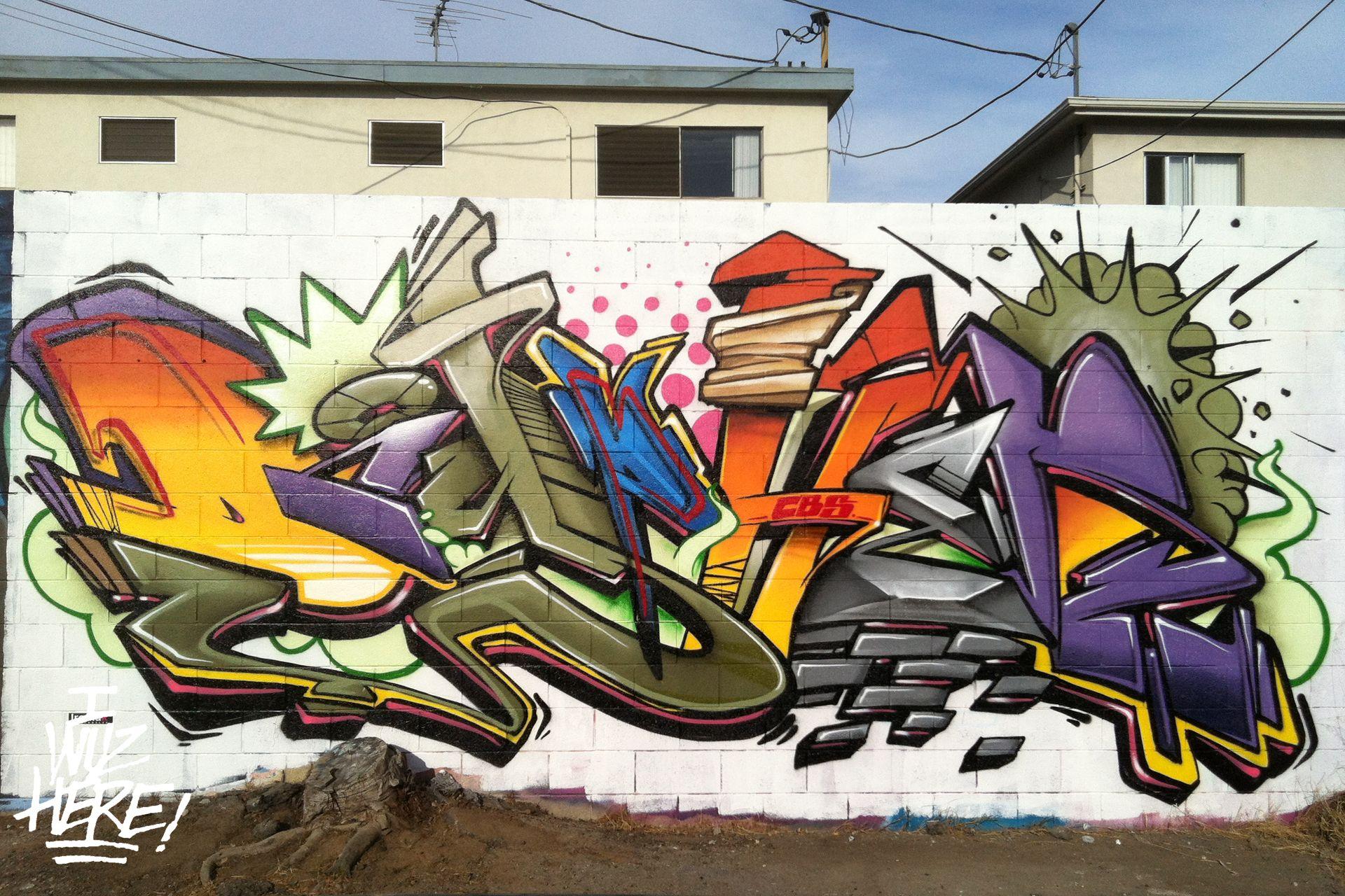 Картинки граффити алена