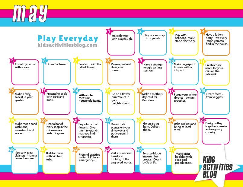 Calendar  Kid Activities Daily Activities And Activities