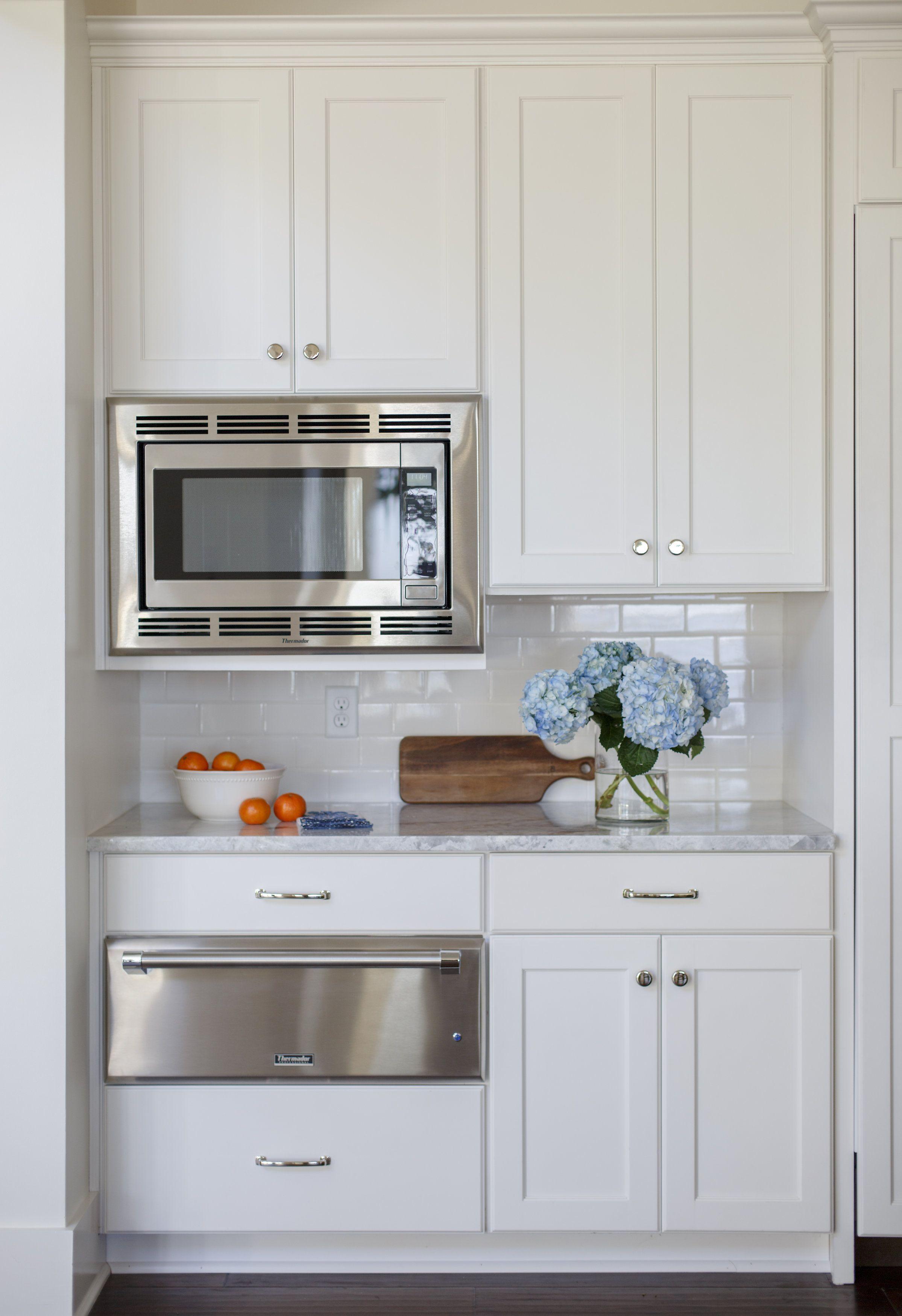 White Kitchen With Stainless Steel Appliances Lauren Leonard Interiors Upper Kitchen Cabinets Kitchen Design Kitchen Remodel