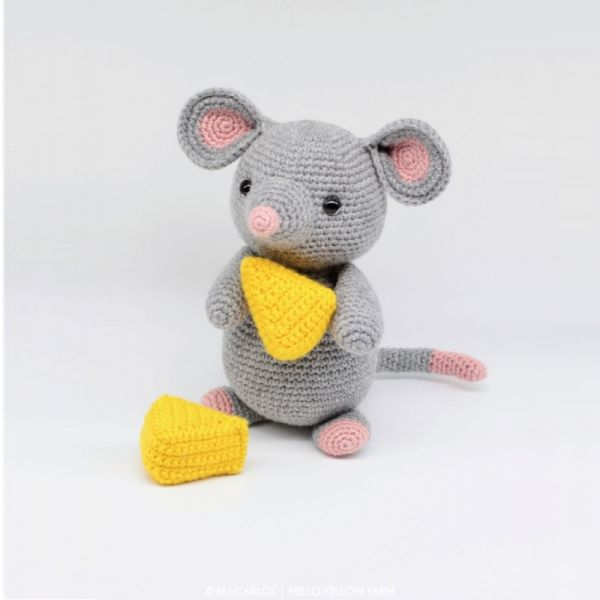 Remington The Mouse amigurumi pattern by Hello Yellow Yarn ...