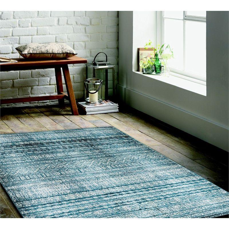 Traditional Rug 120x170cm Blue