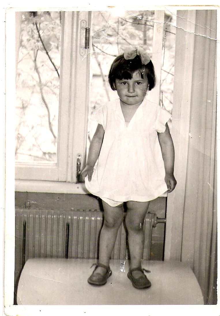 My mom's only baby picture :) looks so much like David!